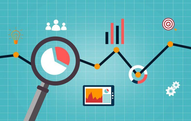 Web analytics concept