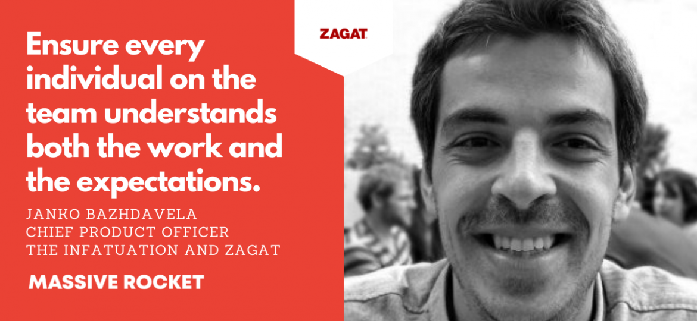 Janko Bazhdavela The Infatuation and Zagat